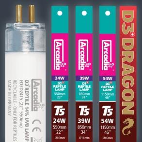 ARCADIA – D3+ DRAGON 14% UVB T5