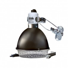 Arcadia Reflector Clamp Lamp with Ceramic Holder (E27), 14cm, Graphite